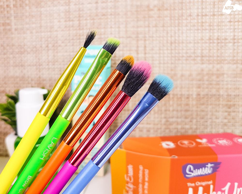 Boxycharm Avril 2020 : Neon Eye Brush Collection de Lavish