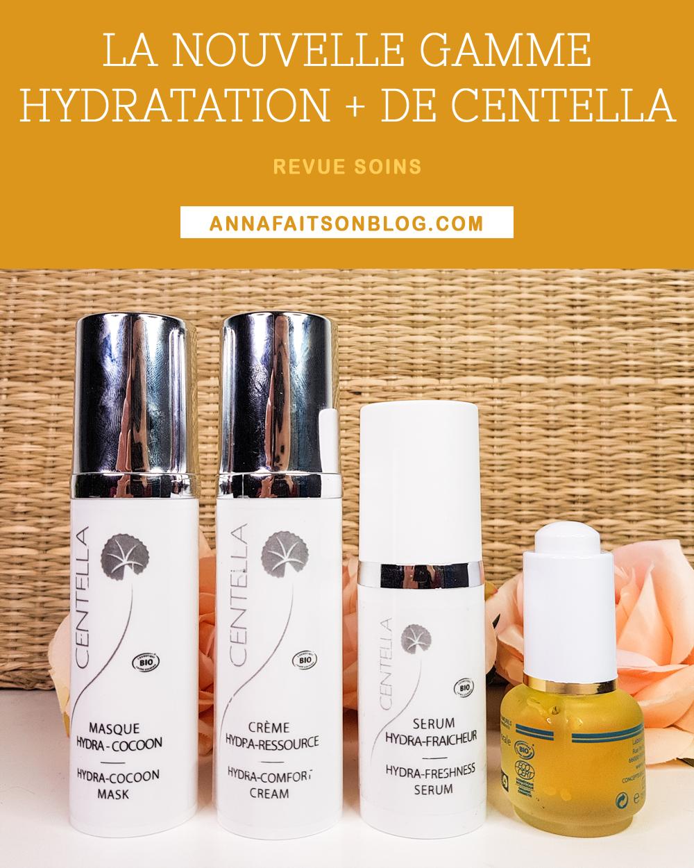 Gamme Hydratation + de Centella