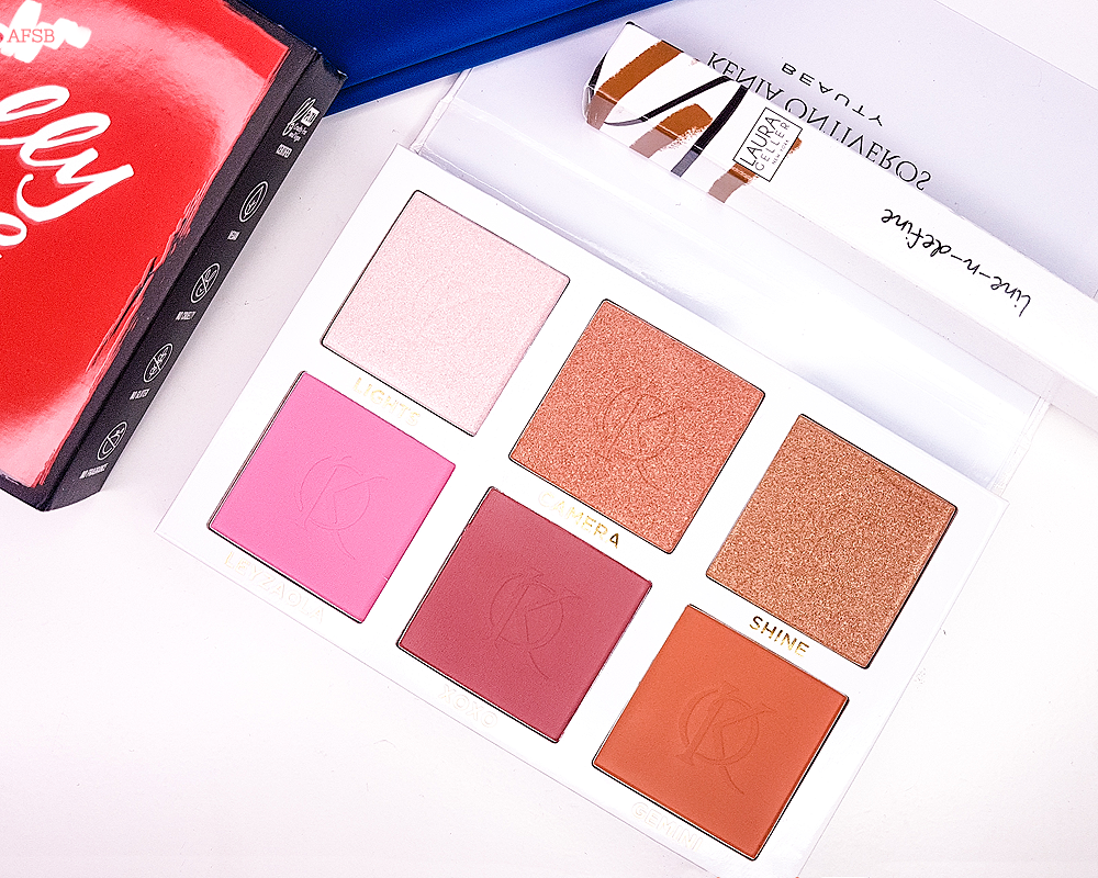 Kenia Ontiveros Beauty - Blush and Shine Kit
