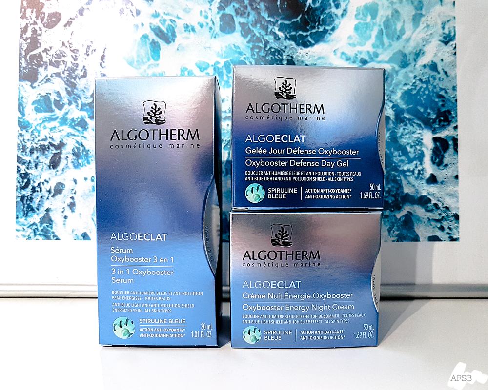 Routine anti-pollution Algoéclat de Algotherm