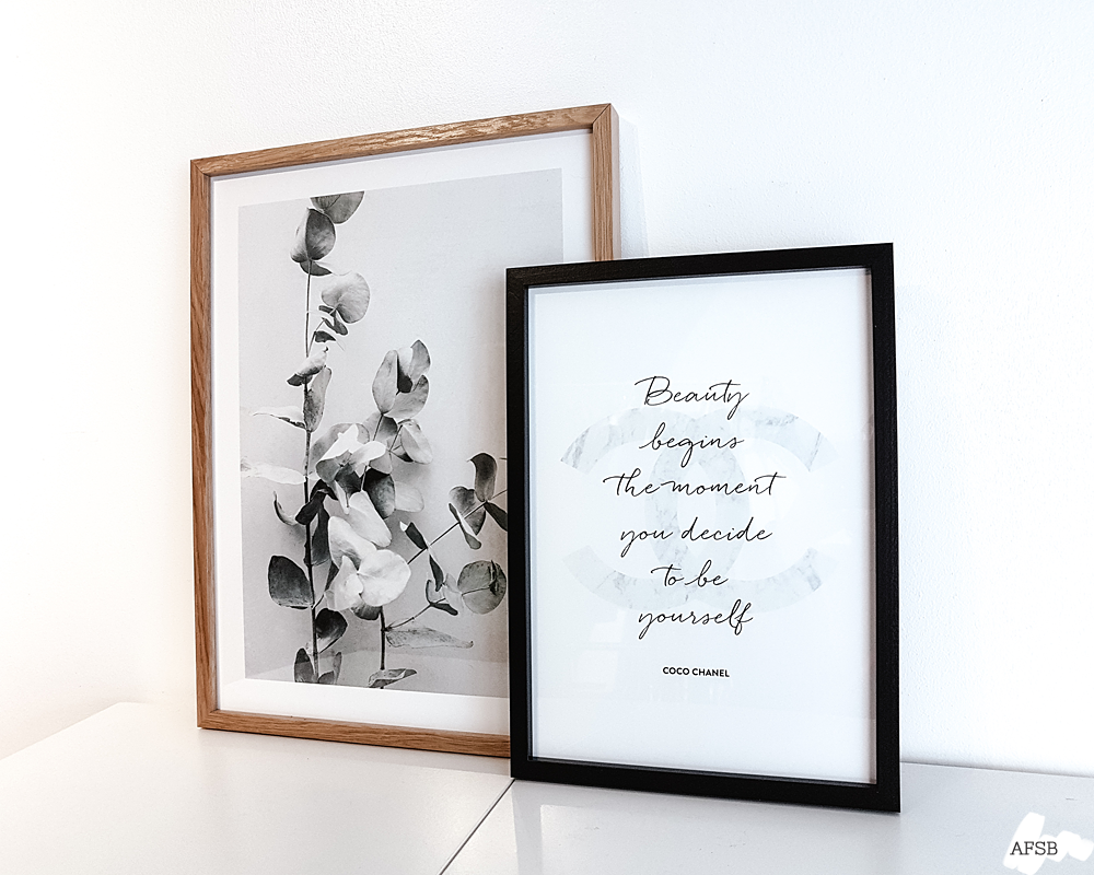 Poster Store - Affiches Branche d'eucalyptus & Chanel