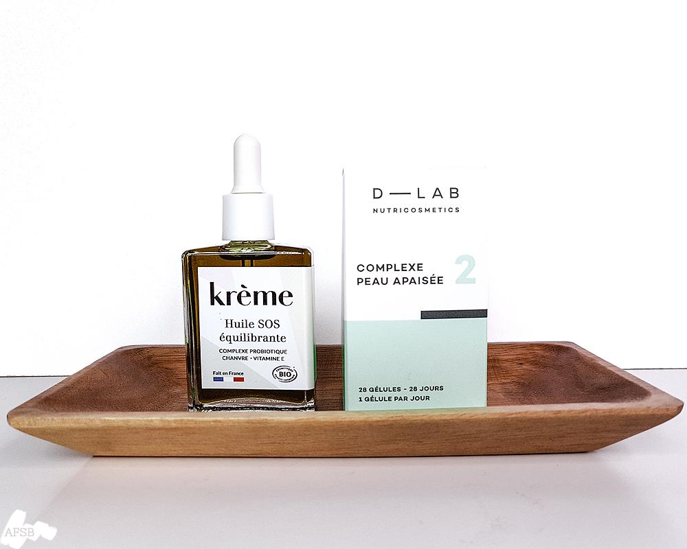 Ma routine in & out avec Kreme et D-Lab