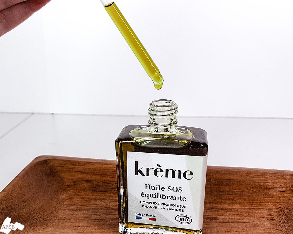 Huile SOS équilibrante Kreme