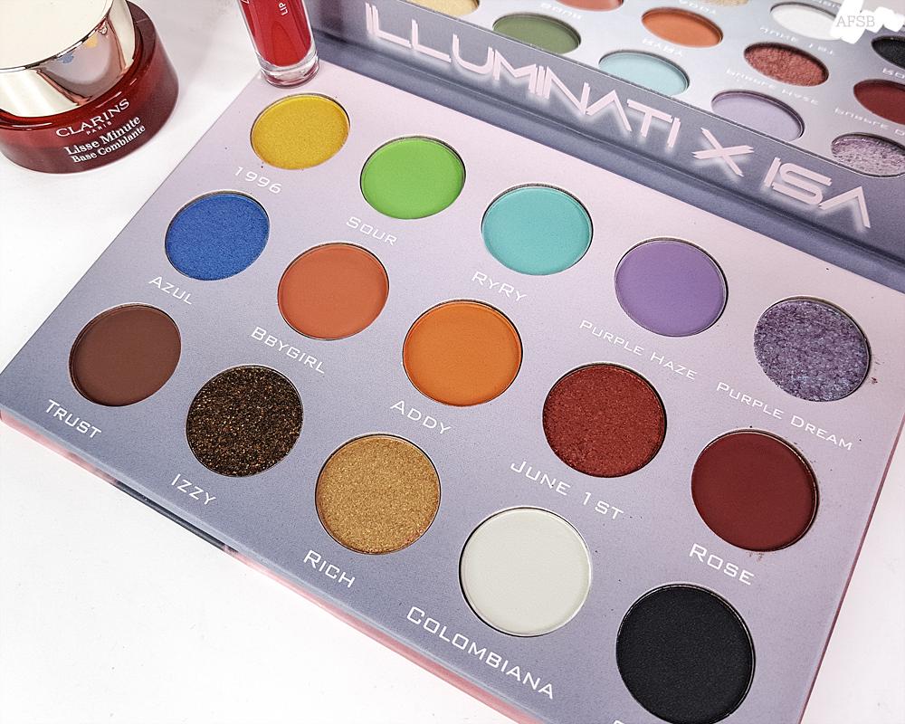 Illuminati Cosmetics - Illuminati x Isa Eyeshadow Palette