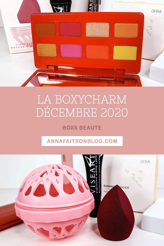 Boxycharm écembre 2020
