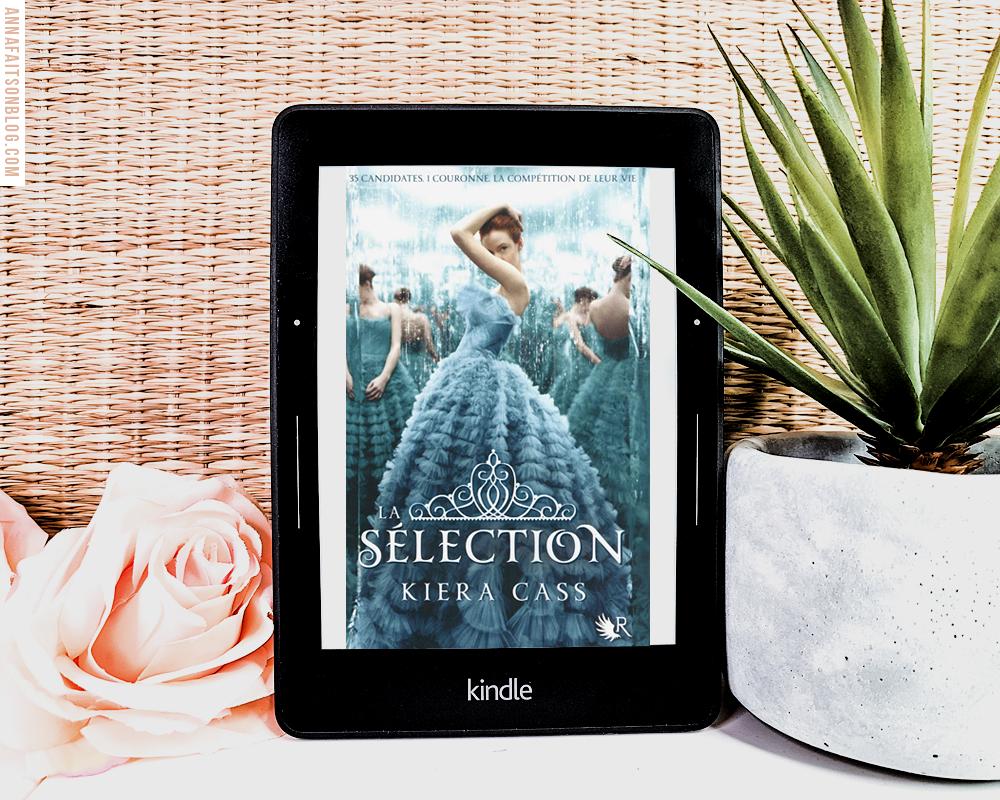 J'ai lu les 5 tomes de La Sélection de Kiera Cass