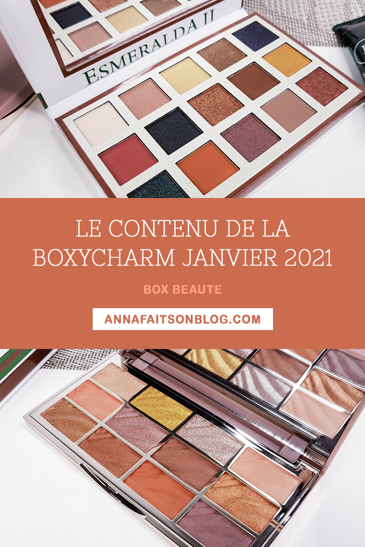 Boxycharm Janvier 2021