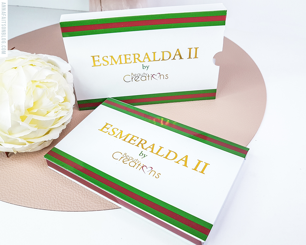 Palette Esmeralda II Beauty Creations