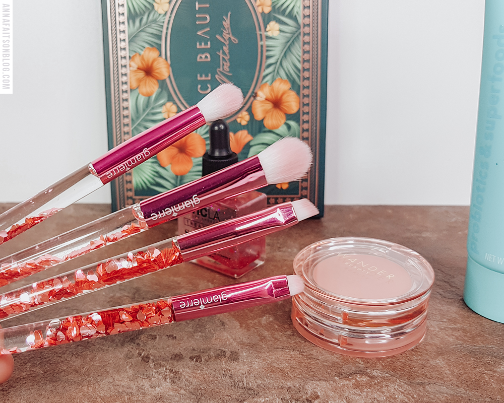 Glamierre - Pink Luxe Glitter Eye Brush Collection