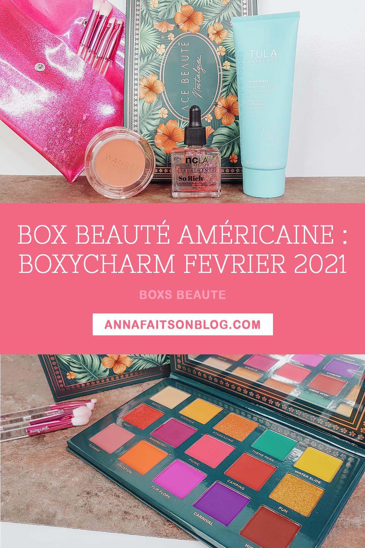 Boxycharm Février 2021