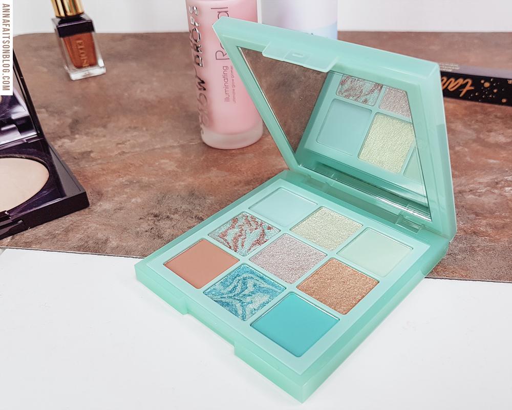 Huda Beauty - Mint Obsessions Palette