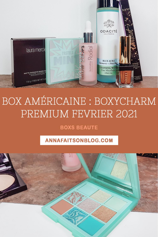 Boxycharm Premium Février 2021