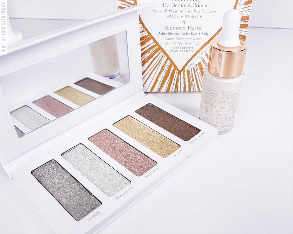 Boxycharm Premium Mars 2021 - Kypris - Illuminating Eye Serum & Primer + Shimmer Palette Set