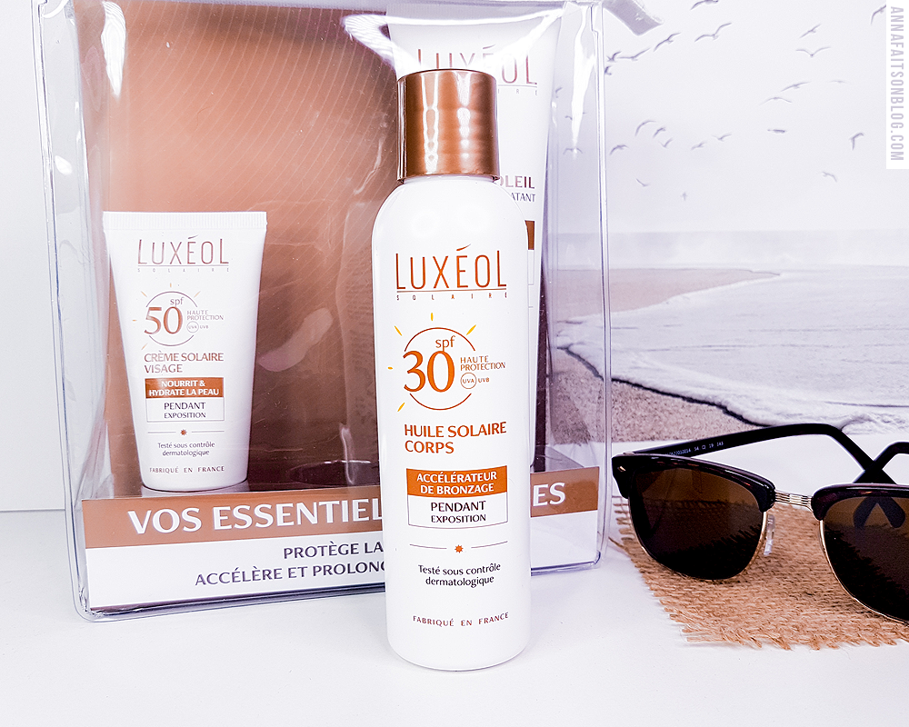 Huile solaire corps SPF30 Luxeol
