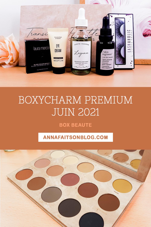 Boxycharm Premium Juin 2021