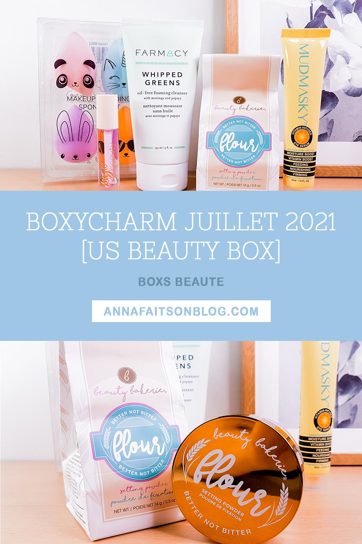 Boxycharm Juillet 2021
