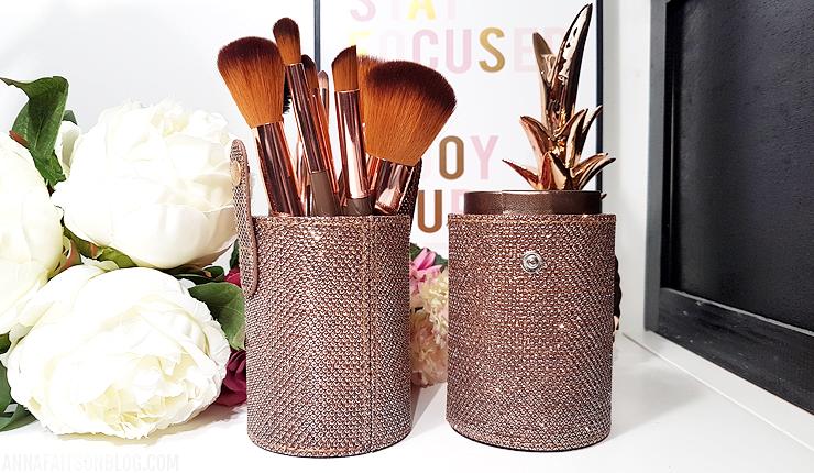 Kit de pinceaux BH Cosmetics - Shimmering Bronze