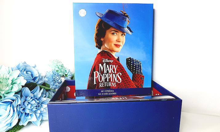 Glossybox Décembre 2018 : le retour de Mary Poppins !