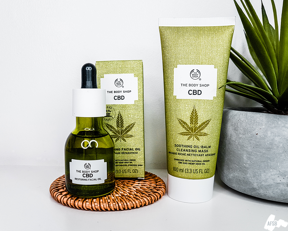Soins au CBD de The Body Shop