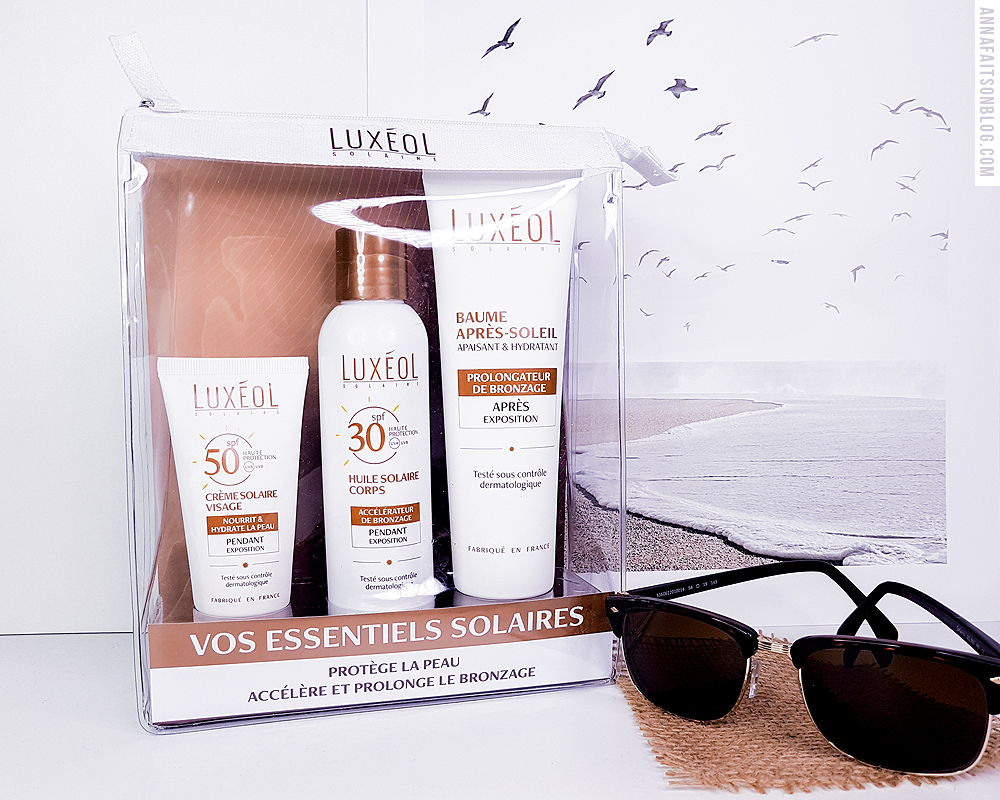 Gamme solaire Luxeol